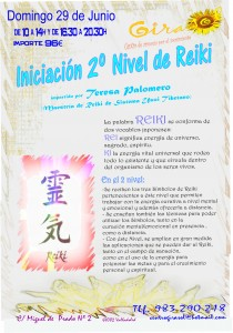 Reiki Nivel 2 Junio 2014